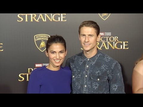"Elodie Yung & Jonathan Howard ""Doctor Strange"" World Premiere Red Carpet"
