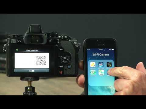 Connect Your Olympus E-M1 To Your Smartphone