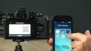 Підключіть свій Олімпус е-М1 на смартфон