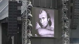 Phil Collins - Intro / Against All Odds - live in Zurich @ Stadion Letzigrund 18.06.2019