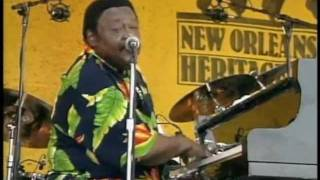 Fats Domino - Live 14 - When my dreamboat comes home -