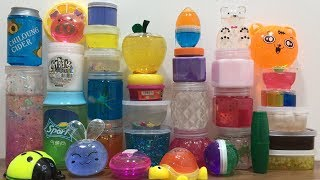 STORE BOUGHT SLIME & PUTTY REVIEW - MIXING ALL MY SLIME ! SLIME SMOOTHIE - SATISFYING SLIME VIDEO 29