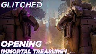 The International 2019 Battle Pass - Opening Immortal Treasure…