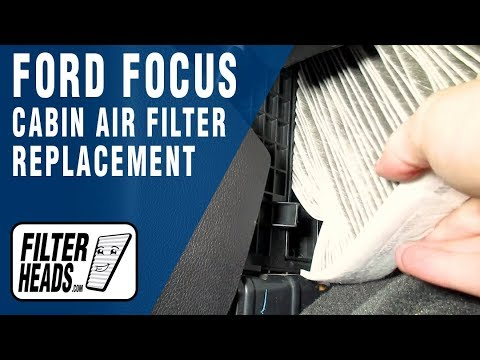 How To Replace Cabin Air Filter 2014 Ford Focus Youtube
