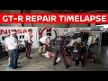 Round The Clock GT-R Crash Repair Timelapse! Bathurst 12h 2017