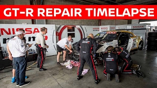 Round The Clock GT-R Crash Repair Timelapse! Bathurst 12h 2017 thumbnail