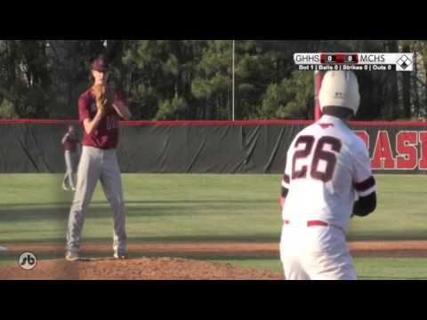Green Hope vs MCHS Baseball 03-24-2016