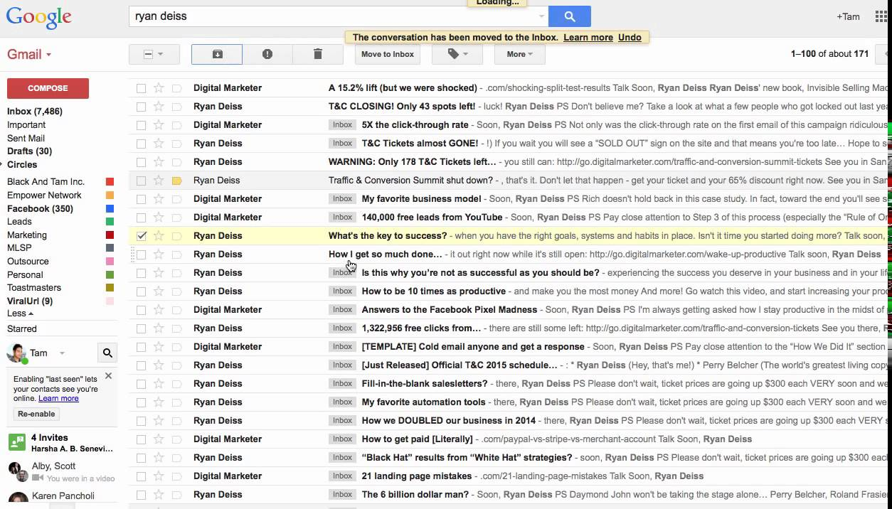 How To Get Archived Gmail >> How To Retrieve Your Archived Emails From Gmail Youtube