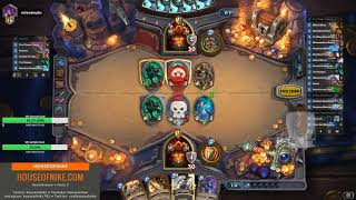 Hearthstone - Unstoppable Quest Control Warrior Against Control Warrior! Baku For The Win!