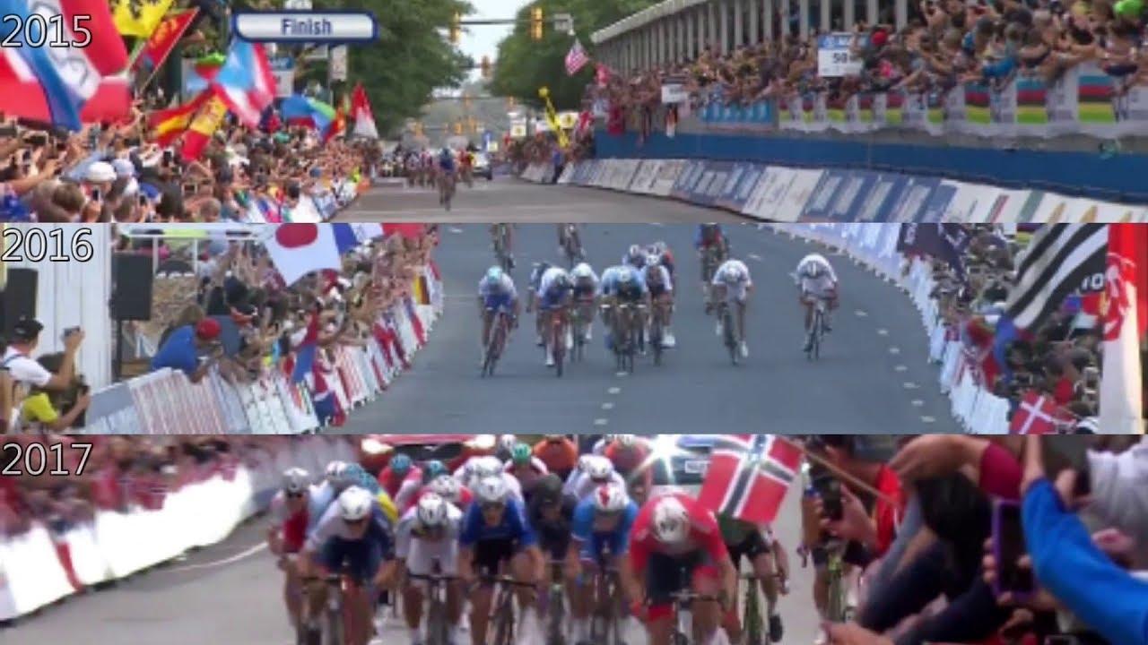 Peter Sagan 3 times UCI world champion 2015 - 2016 - 2017