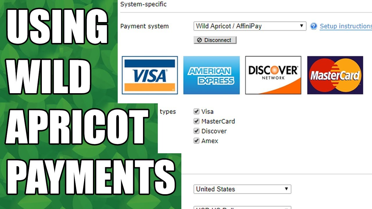 Wild Apricot Payments (AffiniPay) - Wild Apricot Help