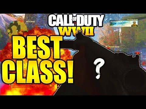 BEST STEALTH CLASS SETUP! CALL OF DUTY WW2 STEALTH CLASS SETUP RAISE YOUR K/D RATIO IN COD WW2!
