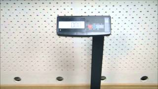 Весы тв-м-150.2-А3 со стойкой напольные электронные до 150 кг(Весы электронные товарные тв-м-150.2 А3 с автономным питанием предназначены для взвешивания различных грузов..., 2014-08-21T05:48:49.000Z)
