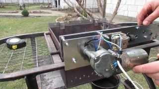 мангал з електроприводом(Саморобний мангал з електроприводом шампурів., 2014-02-16T21:36:36.000Z)