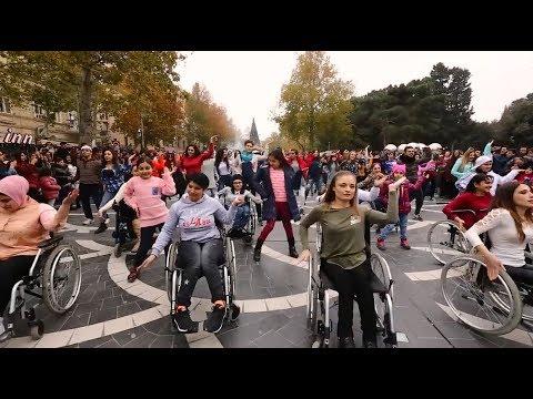 Dancing on wheels in Azerbaijan