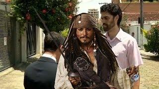 Jack Sparrow trola EPTV e aparece em 2 entrevistas