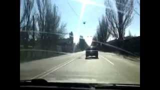 Repeat youtube video Crazy drivers and bad roads in Gorlovka Ukraine part II