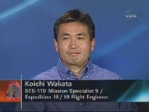 Koichi Wakata: Expedition 18/19 Flight Engineer