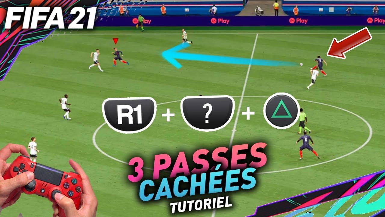 TUTO FIFA 21 - LES 3 PASSES CACHÉES QUI FONT LA DIFFÉRENCE