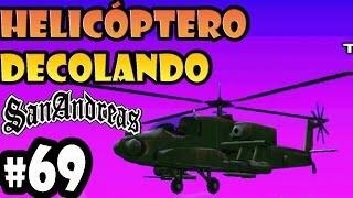 69 GTA SA - Helicóptero Decolando