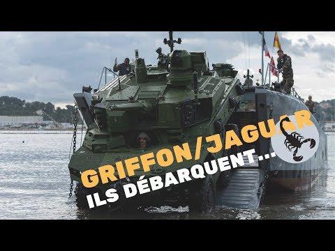 Qualification des capacités amphibies Jaguar et Griffon