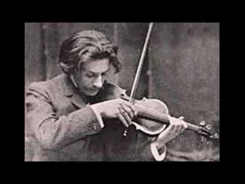 Jacques Thibaud Mozart concerto n.3 1st mvt