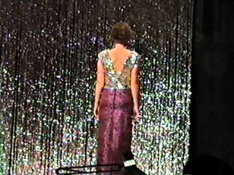 1988 Miss Southest Kansas Pageant - Evening Gown and Winner