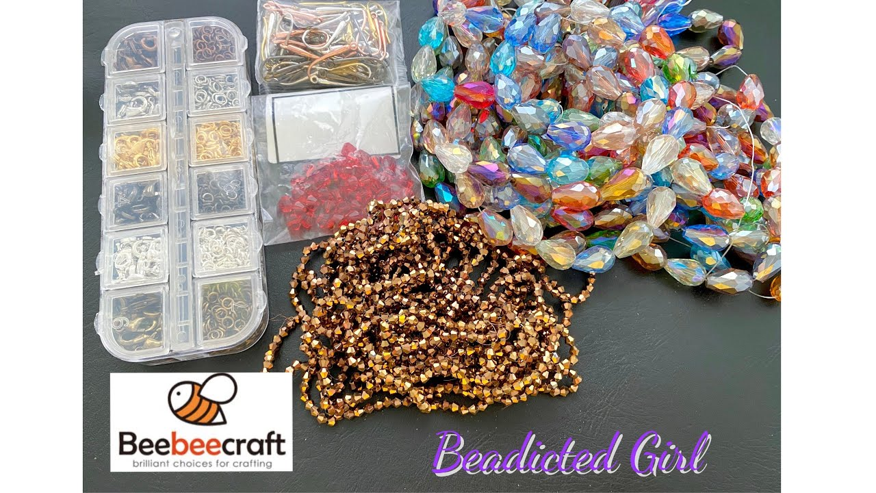 Beebeecraft Unboxing || Bead haul || Beadicted Girl Unboxing