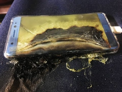 Why Are Samsung Galaxy Note 7's Exploding? Lithium-Ion Batteries Explained
