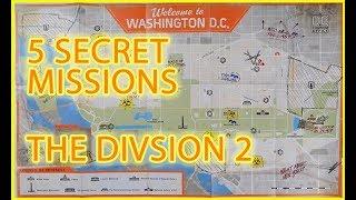 DIVISION 2 SECRET MISSIONS (Guide)