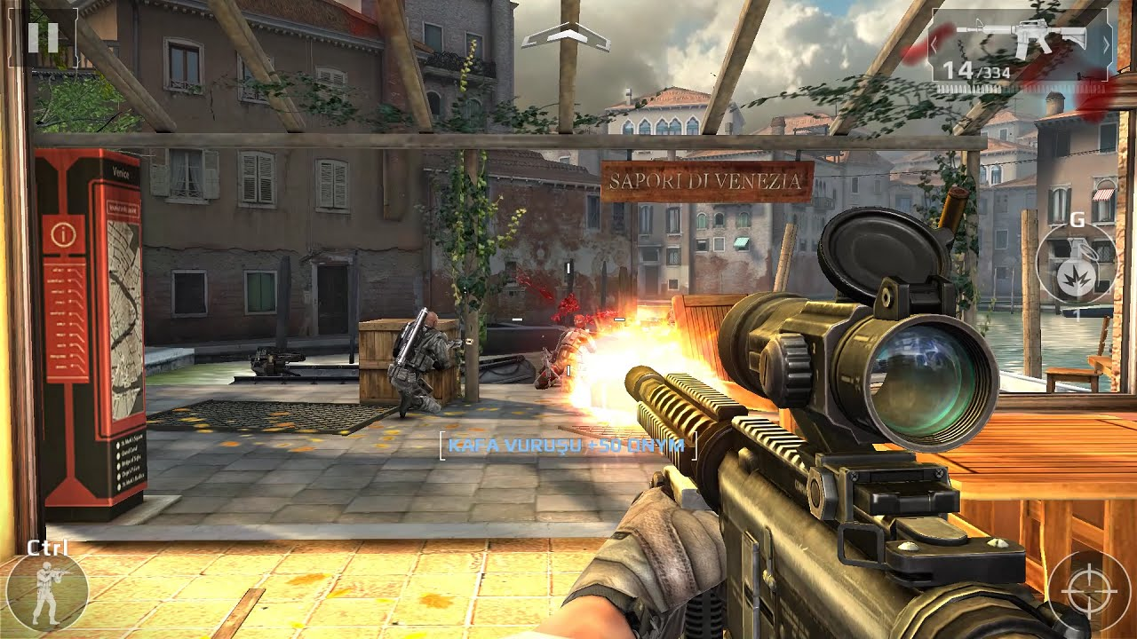 modern combat 5 blackout pc gameplay 1080p 60fps