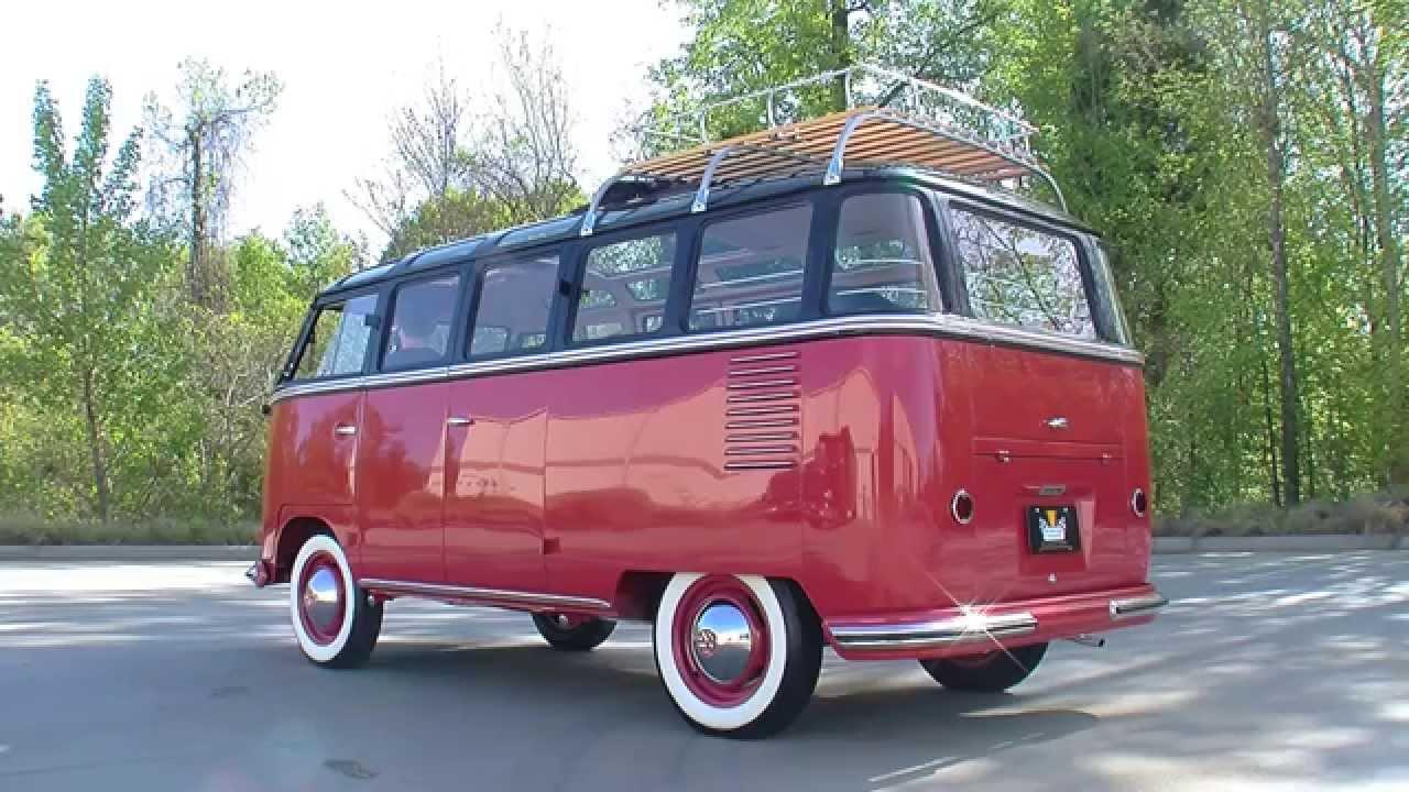 volkswagen deluxe microbus youtube