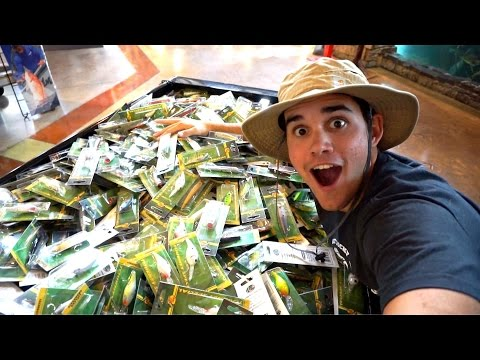 WE BOUGHT SO MANY LURES!
