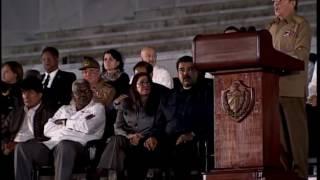 discurso de raúl castro en homenaje póstumo a fidel