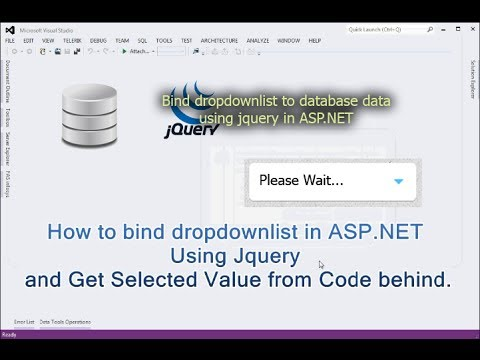 How to bind dropdownlist in ASP NET Using Jquery and Get