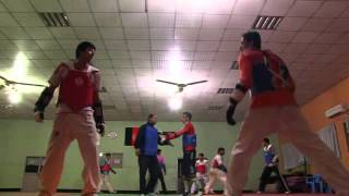 런던올림픽 - 아프가니스탄의 태권도 선수들