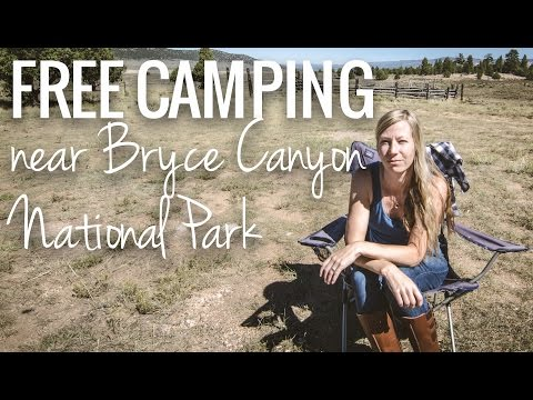 [RV Life & Travel] Free Camping: near Bryce Canyon National Park in Utah || Johns Valley Rd