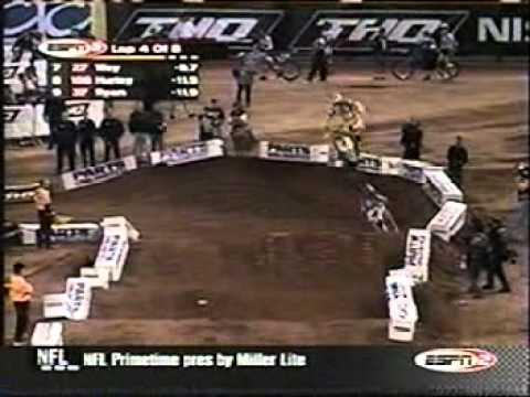 2003 Phoenix 250cc Heat #1 (Ricky Carmichael Vs. Travis Pastrana #2)