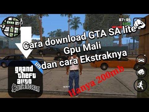 cara download gta sa 200mb gpu mali