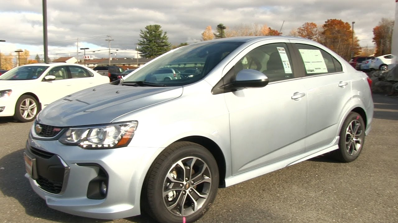 2017 Chevy Sonic Lt Rs At A Glance Central Maine Buick You
