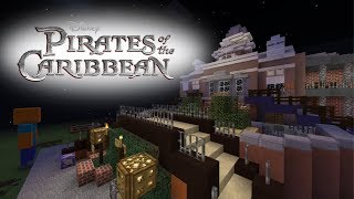 Disneyland's Pirates of the Carribean (Minecraft) | Part 1