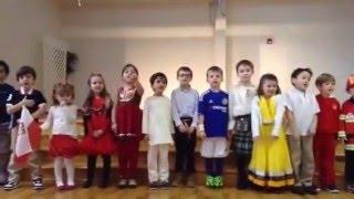 Apple Montessori Schools International Day Perform