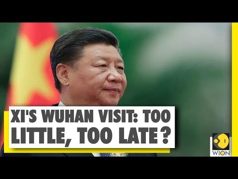 Xi Jinping's first Wuhan visit since Coronavirus Outbreak | WION News | World News