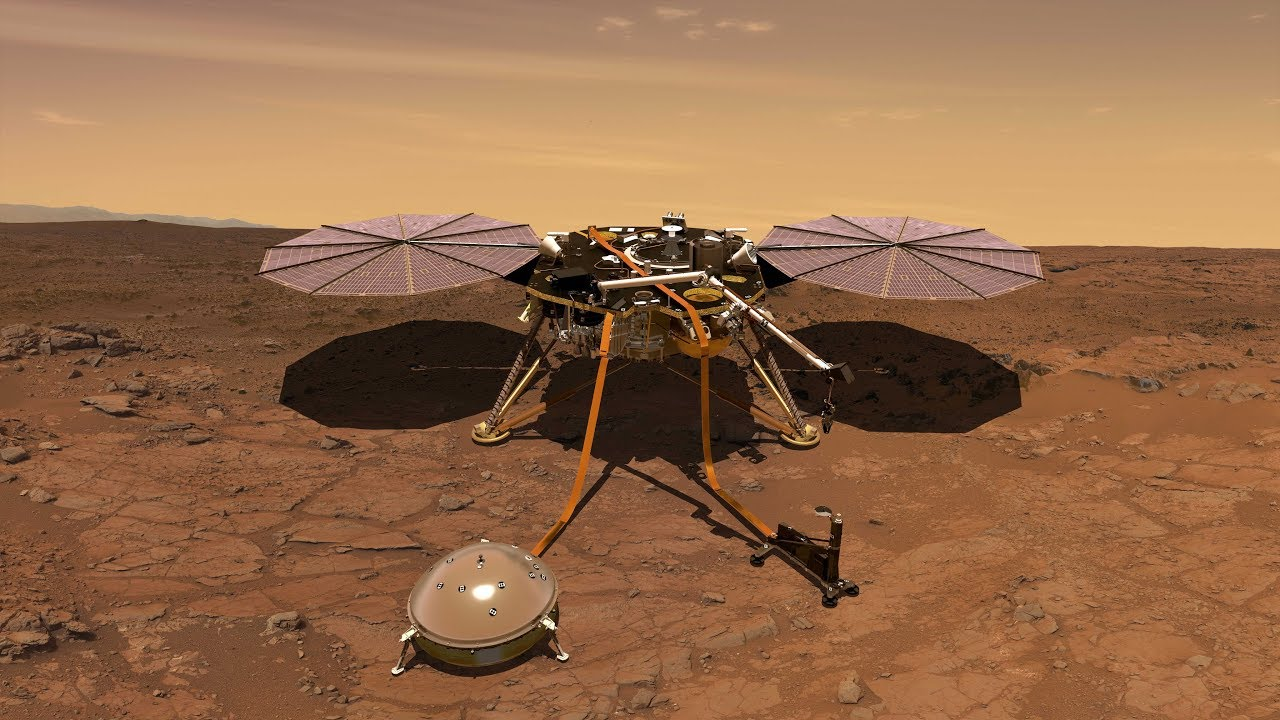InSight mission to Mars lifts off successfully | ETH Zurich