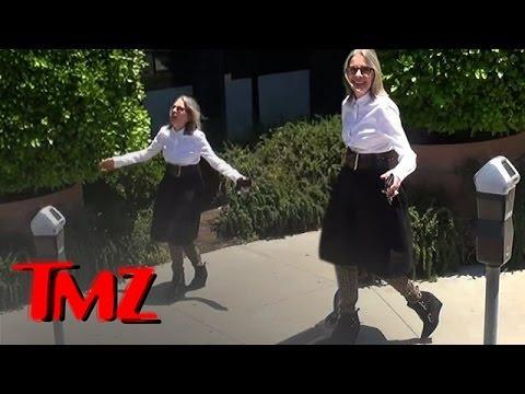 Diane Keaton Caught By The TMZ Tour  TMZ