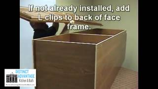 Distinct Advantage Kitchen And Bath - Utility Cabinet Pantry Cabinet Assembly Instructions