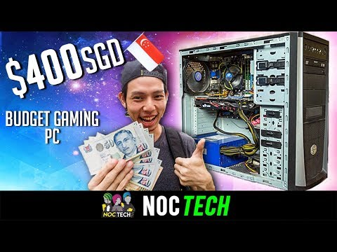 NOC Tech Builds $400 Budget Gaming PC!