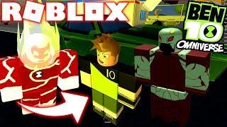 ROBLOX! -BEN 10 GOT THE BEST ALIENS FROM THE OMNITRIX-INCREDIBLE SIMULATOR BEN 10
