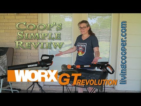 Coop's Simple Review - Worx GT Revolution Combo Kit