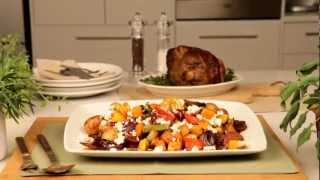 What's For Dinner Recipe: Festive Roast Veg With Dates And Pecan Nuts